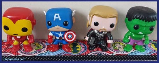 POP shelf - Marvel