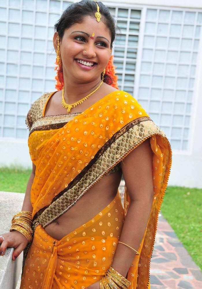 Tamil Actress Amrutha Valli Hot Saree Photos  Actress -9964
