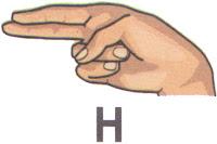 Bahasa Isyarat H