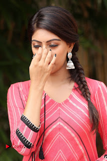 Actress Anu Emmanuel Pictures at Majnu Success Meet  0012.JPG