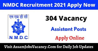 NMDC Limited 2021 Recruitment 304 Vacancy