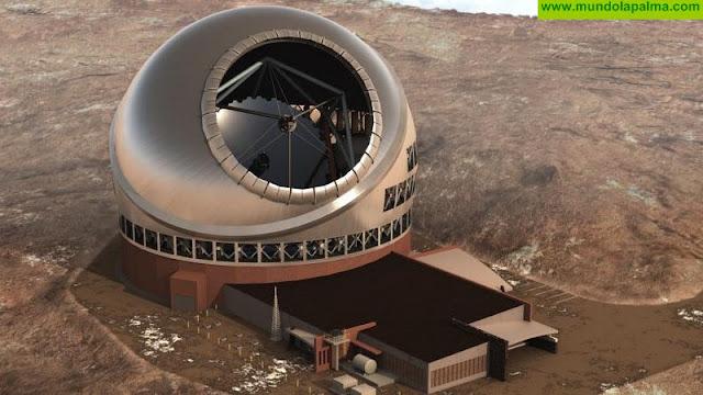 El PP exige al Gobierno un compromiso firme al Telescopio de Treinta Metros en La Palma y la Plataforma Oceánica de Canarias en Gran Canaria