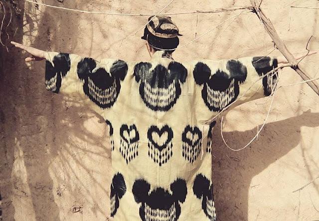 contemporary ikat designs, dilyara kaipova ikat artist, new york exhibition dilyara exhibition