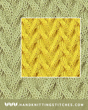 The Art of Knitting - Sand Cable Pattern