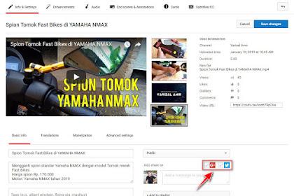 Share ke Google + dan Twitter Bakal Dinonaktifkan YouTube