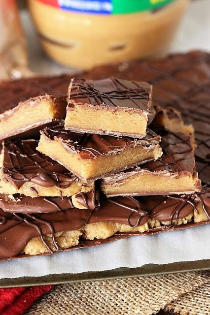 Peanut butter cookie dough bark recipe