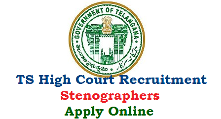Telangana Judicial Department inviting Online Applications for the Post of Stenographer Grade III Vacancies in District Courts. Distrioct wise Vacancies details has given under. Apply Online for 54 Vacancies in Judicial Dept Ministerial Services of Telangana State. Eligibility criteria Educational Qualifications How to Apply Online at Official website Scheme of Recruitment Exam Pattern Selection Procedure Downloading of Hall Tickets Results will be made available here. ts-high-court-recruitment-54-vacancies-stenographer-apply-online
