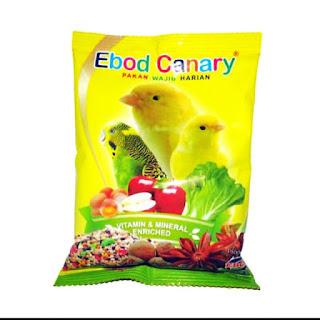 makanan ebod canary