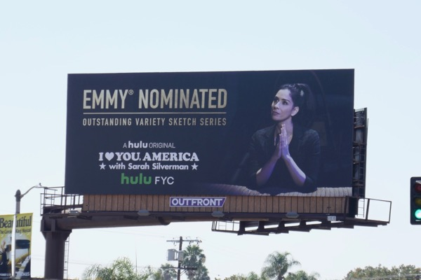 I Love You America Emmy nominee billboard