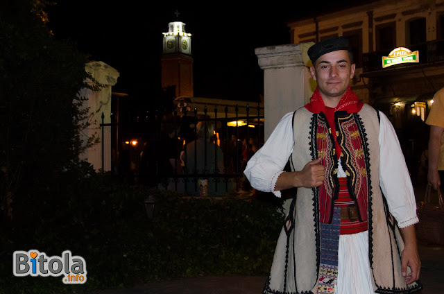 Macedonian national costume - Ethnic area Skopska Blatija