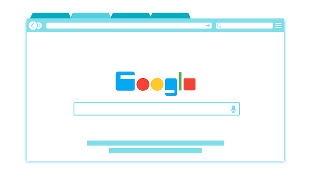 محرك بحث جوجل كرتوني