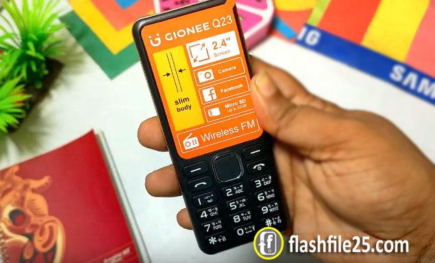 Gionee Q23 Flash File