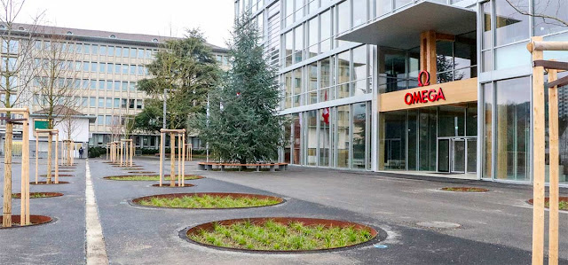 Omega's new facility in Biel/Bienne Image courtesy of Hirt AG