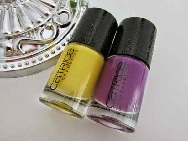 Catrice Carnival of Colours LE - Nail polishes Nagellacke Reviews, Photos, Swatches