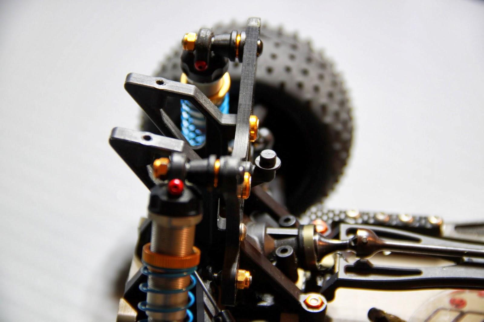 jrt racing montage amortisseur l 39 arri re sur dex410. Black Bedroom Furniture Sets. Home Design Ideas