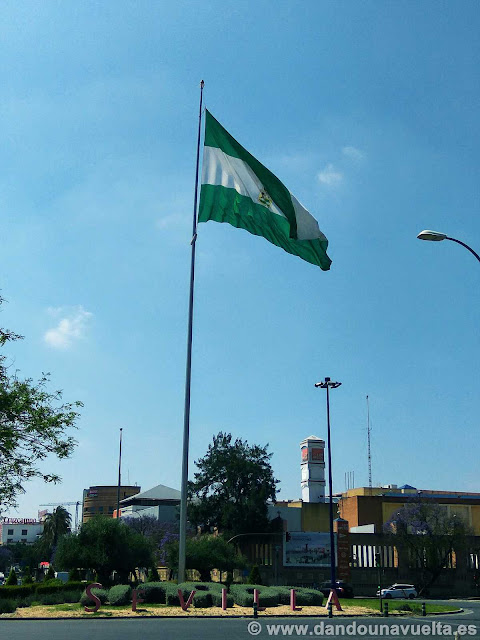 Llegada a Sevilla capital
