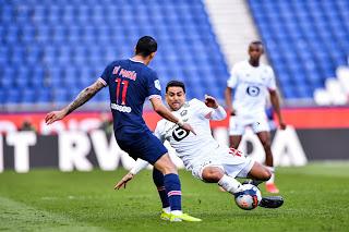 ملخص وهدف فوز ليل علي باريس سان جيرمان (1-0) الدوري الفرنسي