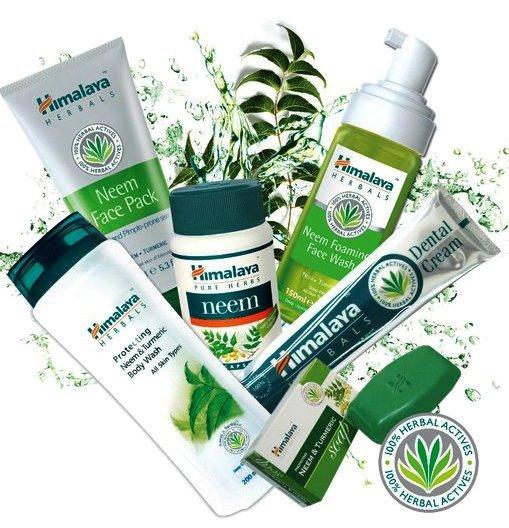 Himalaya Natural Cosmetics Products