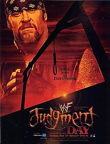 WWE Judgement Day 2002 - Event poster