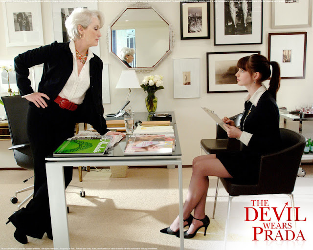 プラダを着た悪魔/ファッション業界はおかしい