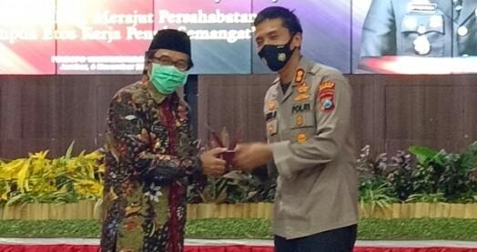 Plt Bupati Kyai Muqit Lepas Sambut Kapolres Jember Di Pendopo