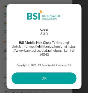Aplikasi Mobile Banking BSI