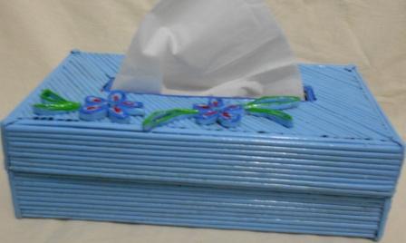 Delavita Salsabila Hidayat  Kerajinan Tangan Membuat Kotak Tisu  D 2c2033079a