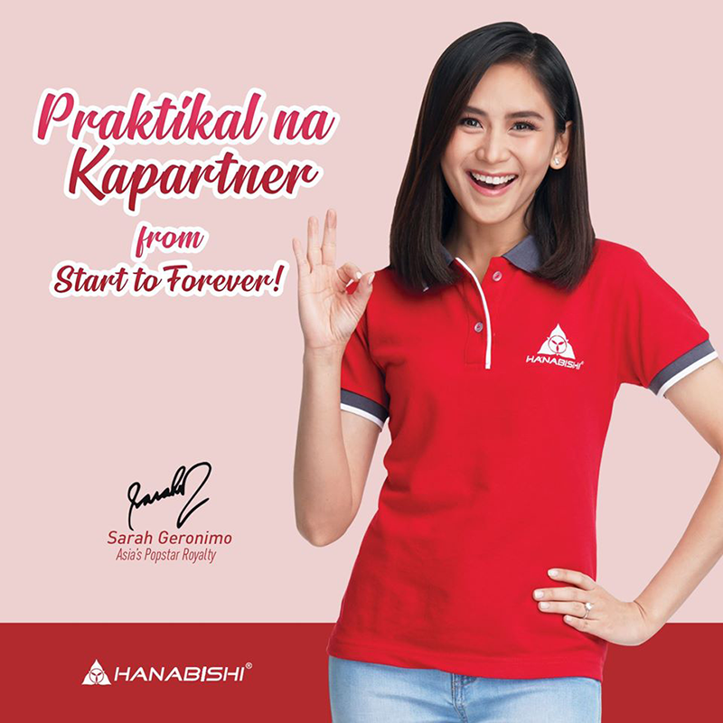Breaking: Hanabishi taps Sarah Geronimo-Guidicelli as the brand's newest endorser