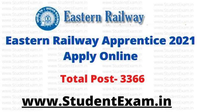 Eastern Railway Apprentice 2021