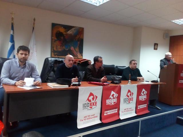 Η παρουσίαση των υποψηφίων της «Λαϊκής Συσπείρωσης» στους Δήμους της Θεσπρωτίας