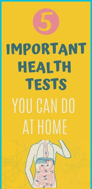 5 Important Health Tests You Can Do At Home