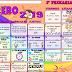 Calendario matemático 3°Tercer Grado mes de Febrero  2018-2019
