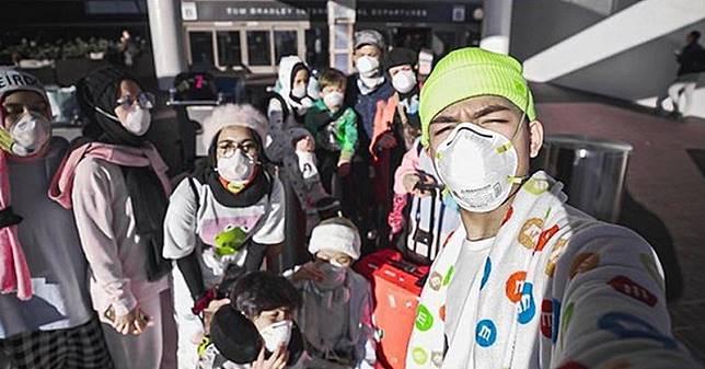 Sesumbar Tak Takut Virus Korona, Saaih Halilintar Ditantang Netizen Lepas Masker