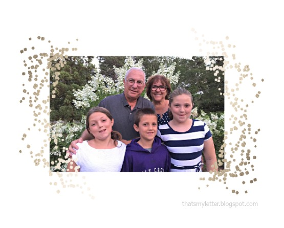 Minted photo art with family