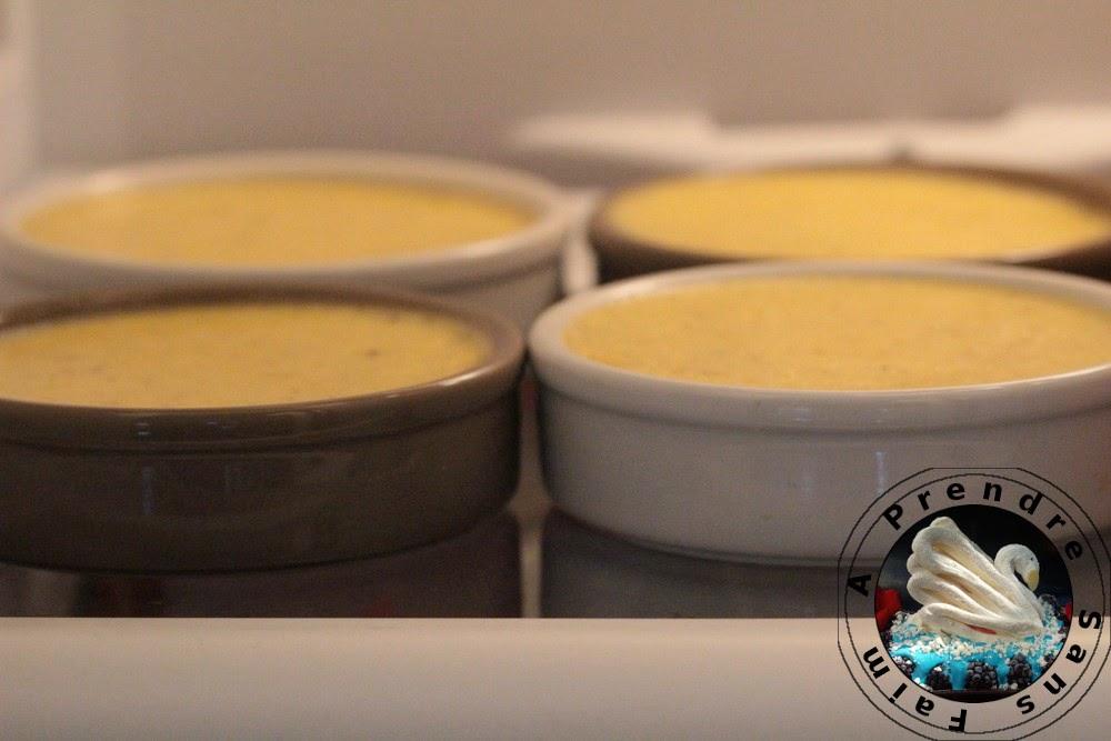 Crème brûlée allégée (pas à pas en photos)