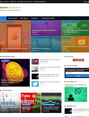 Newcon Free Professional Blogger Template Download Full Guide In Hindi