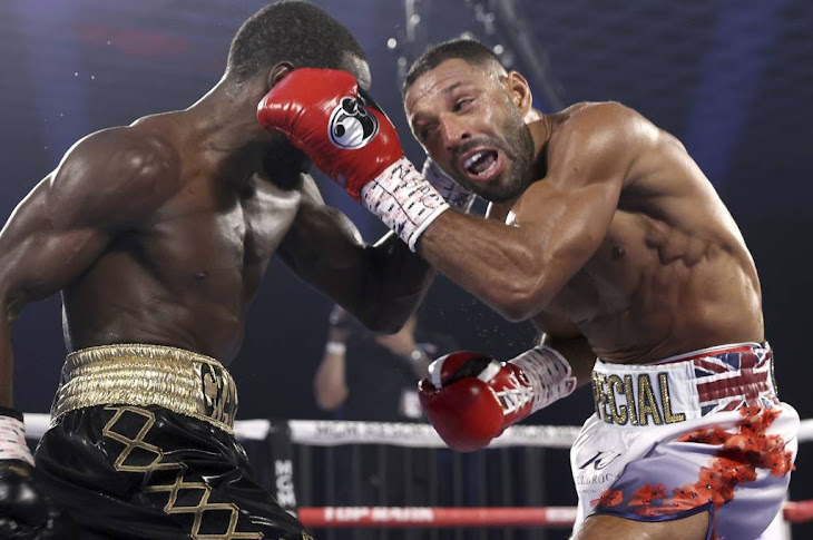 Terence Crawford Defeats Kell Brook With Technical Knockout