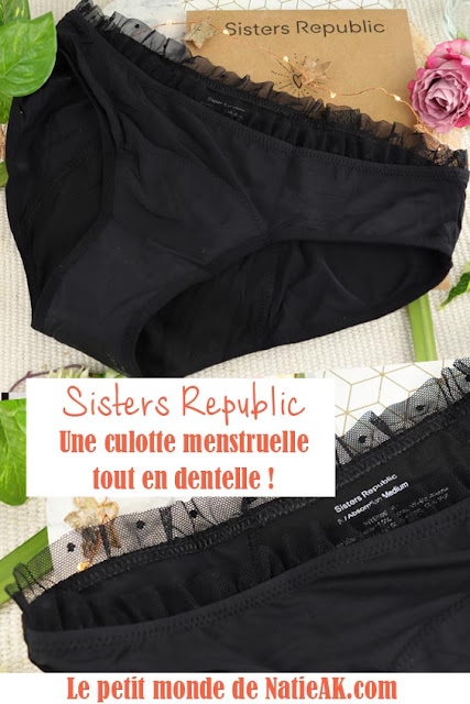 Sister republic culotte menstruelle Colette avis
