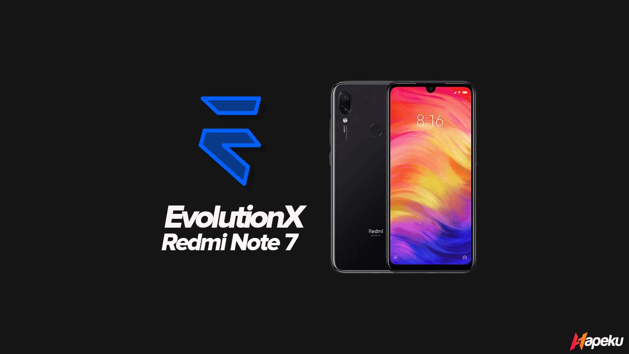 ROM Evolution X Xiaomi Redmi Note 7 ( LAVENDER )