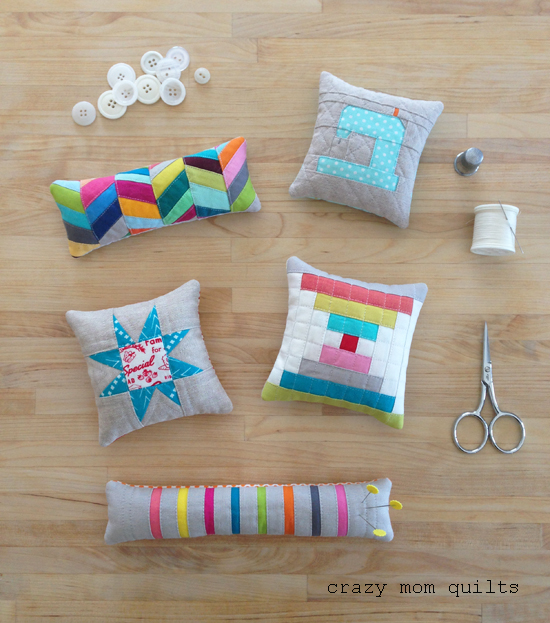 crazy mom quilts: plenty of pincushions, volume 2