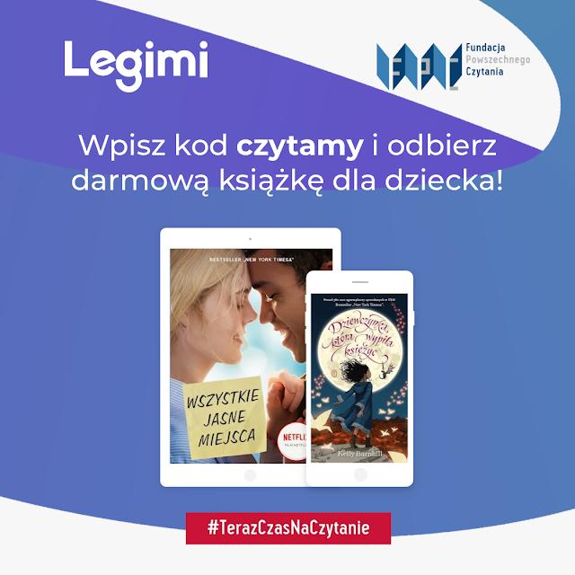 #zostanwdomu Darmowe książki dla dzieci od Legimi #TerazCzasNaCzytanie