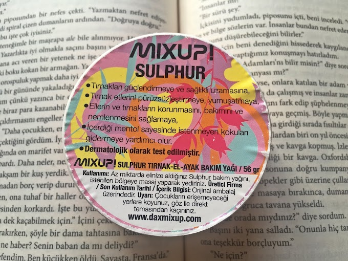 Dax Mixup Sulphur Yorum (Çabuk kırılan tırnaklar ve Tırnak eti bakımı için)