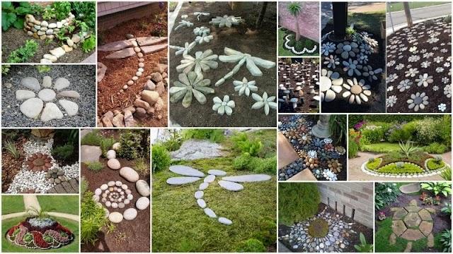 Διακόσμηση Κήπου με Βότσαλα - Πέτρες