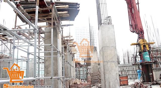 Tiến độ dự án tổ hợp căn hộ thương mại dịch vụ Tabudec Plaza