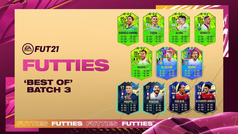 FUTTIES Best of Batch 3 FIFA 21
