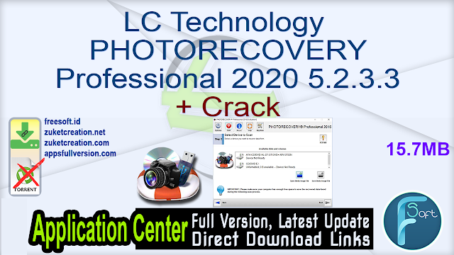 LC Technology PHOTORECOVERY Professional 2020 5.2.3.3 + Crack