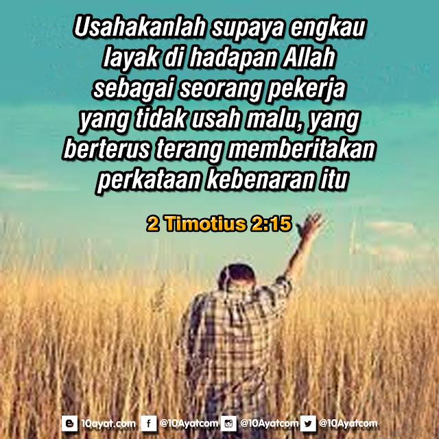 2 Timotius 2:15