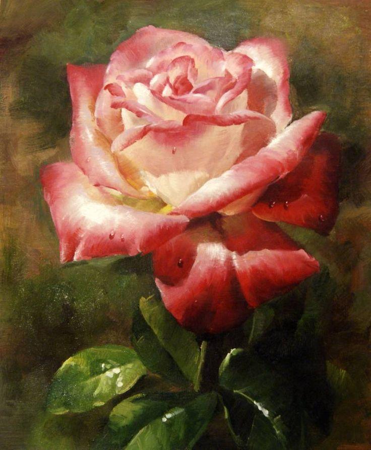 Pintura de Rosas