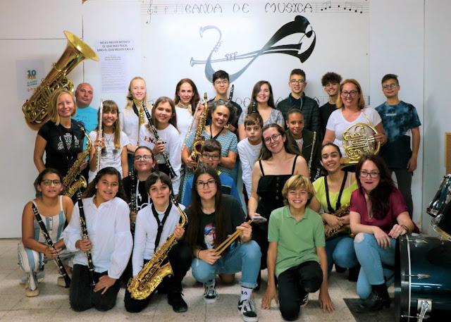 La%2BBandita%2Bde%2BP%25C3%25A1jara%2B%25282%2529 - Fuerteventura.- 'La Bandita' representa a Pájara en el encuentro de bandas juveniles de música de Ingenio