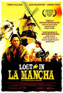 Cartel Perdidos en La Mancha